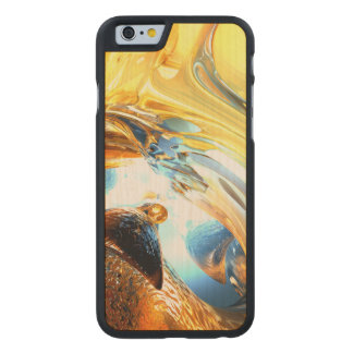 Glass Tidal Wave Abstract Carved® Maple iPhone 6 Slim Case