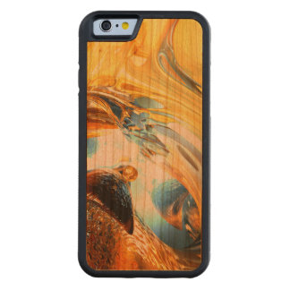 Glass Tidal Wave Abstract Carved® Cherry iPhone 6 Bumper