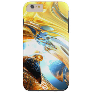 Glass Tidal Wave Abstract Tough iPhone 6 Plus Case