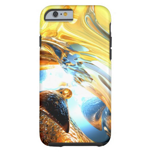 Glass Tidal Wave Abstract Tough iPhone 6 Case