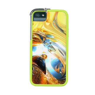 Glass Tidal Wave Abstract Case For iPhone 5