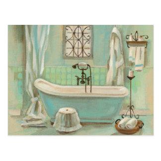 Glass Tile Bath Post Cards