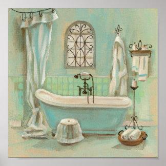 Vintage Bathroom Posters