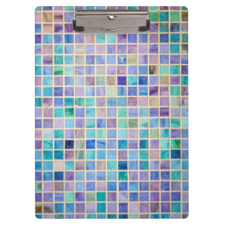Glass Tile Mosaic cool modern colorful Clipboard
