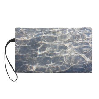 Glass Two Wristlet Clutches