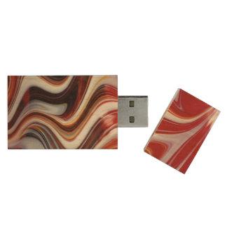 Glass USB Flash Drive Wood USB 2.0 Flash Drive