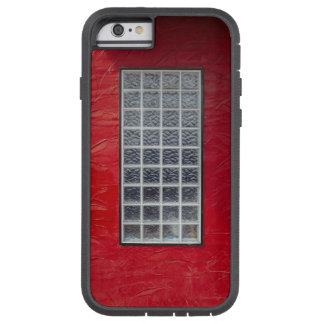 Glass Window on a Red Wall Tough Xtreme iPhone 6 Case