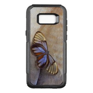Glass-wing Butterfly Egyptian Goose Feather OtterBox Commuter Samsung Galaxy S8+ Case