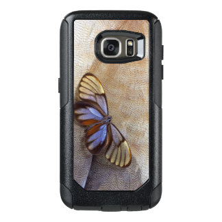 Glass-wing Butterfly Egyptian Goose Feather OtterBox Samsung Galaxy S7 Case