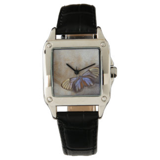 Glass-wing Butterfly Egyptian Goose Feather Watch