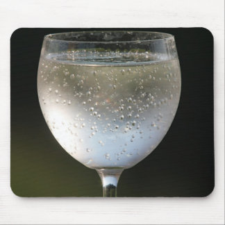 Glass with drink mouse pads