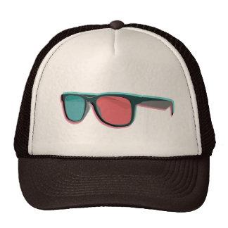 glasses 3D Trucker Hat