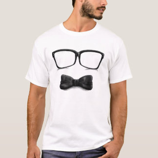Glasses And Bowtie T-Shirt