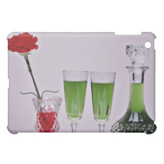 Glasses and flower flowers case for the iPad mini