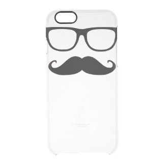 Glasses and Mustache iPhone Clear Case