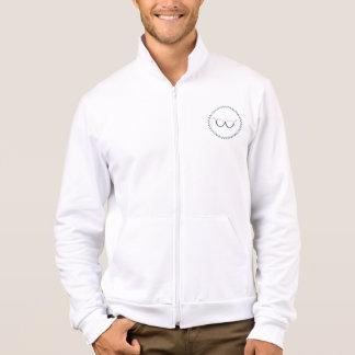 Glasses&Curls Girl Gang Men's-fit Fleece Zip Up Jacket
