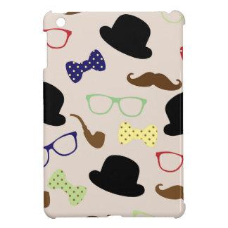 Glasses, Hats and Mustache Case For The iPad Mini