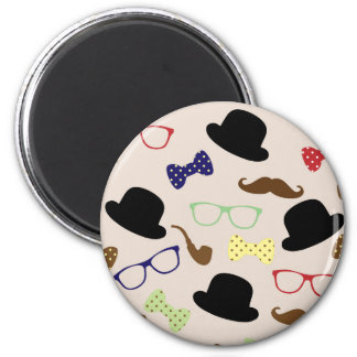 Glasses, Hats and Mustache Magnet