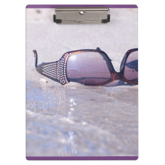 glasses. marine collection clipboard