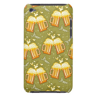 Glasses Of Beer Pattern Barely There iPod Cases