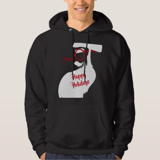 Glasses on Santa Hoodie