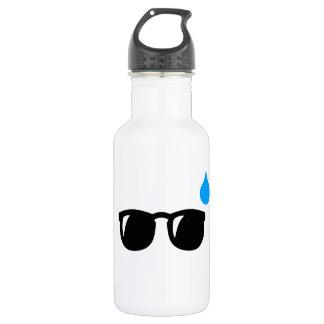 Glasses sweaty 532 ml water bottle