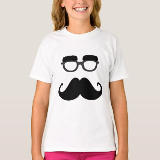 Glasses with the moustache T-Shirt