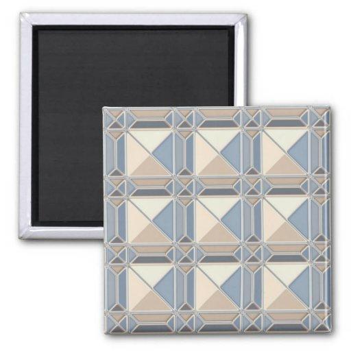 Glassy Blocks Magnet