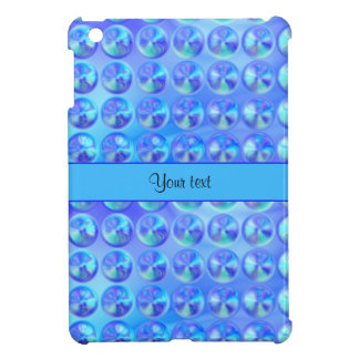 Glassy Blue Beads iPad Mini Case