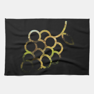 Glassy Bunch of Grapes Towel