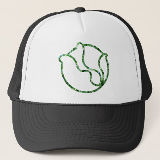Glassy Head of Cabbage Trucker Hat