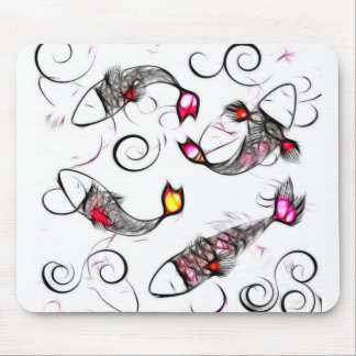 Glassy Kois Mousepad