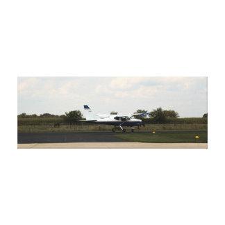 GLASTAR GS-1 on runway Nappanee, Indiana Canvas Print