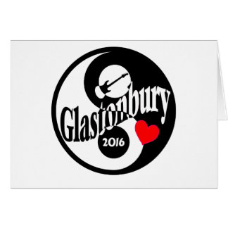 Glastonbury 2016 card