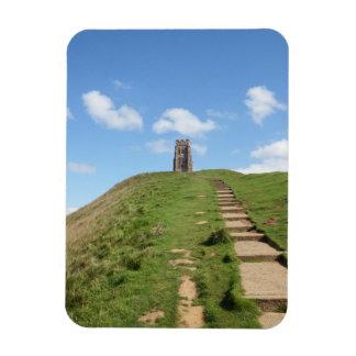Glastonbury Tor Path Magnet