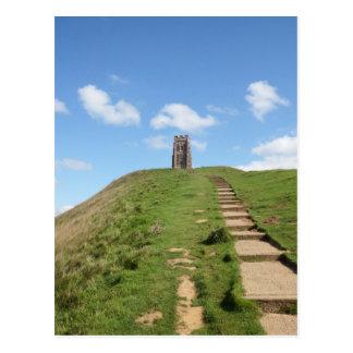 Glastonbury Tor Path Postcard