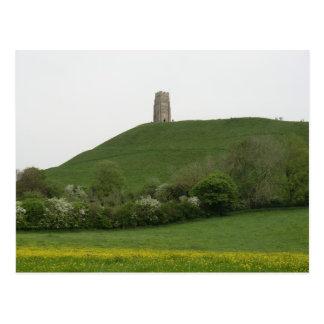 Glastonbury Tor Postcard