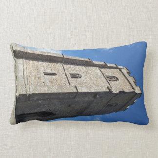 Glastonbury Tor Tower Pillow
