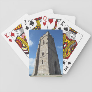 Glastonbury Tor Tower Playing Cards