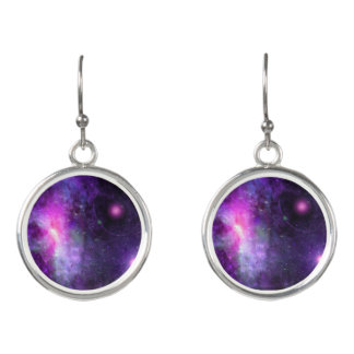 Glaxaxy earrings