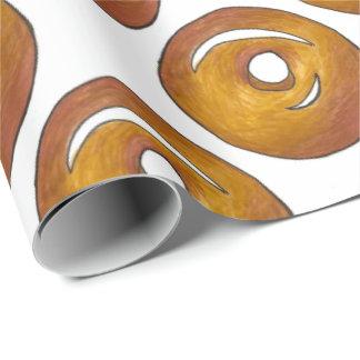 Glazed Donut Doughnut Breakfast Foodie Gift Wrap