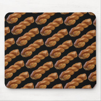 Glazed Twist Donut Mouse Pad