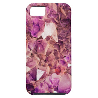Gleaming Purple Geode Crystals iPhone 5 Case