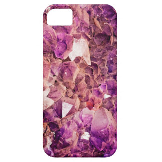 Gleaming Purple Geode Crystals iPhone 5 Cover