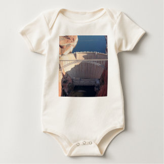 Glen Canyon Dam and Bridge, Arizona Baby Bodysuit