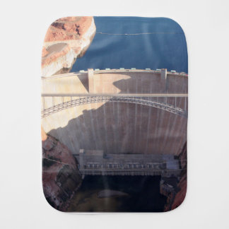 Glen Canyon Dam and Bridge, Arizona Burp Cloth