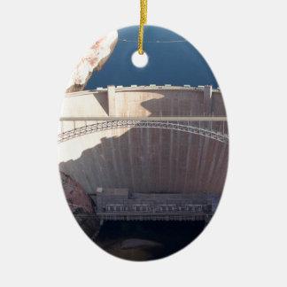 Glen Canyon Dam and Bridge, Arizona Ceramic Ornament