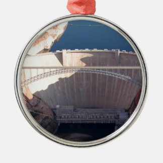 Glen Canyon Dam and Bridge, Arizona Metal Ornament