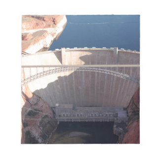 Glen Canyon Dam and Bridge, Arizona Notepad