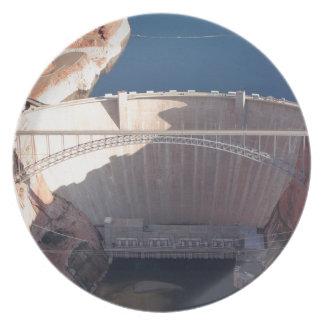 Glen Canyon Dam and Bridge, Arizona Plate